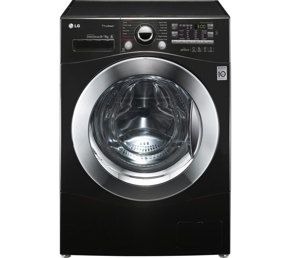 LG FH4A8FDH8N Washer Dryer – Black