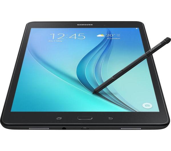 samsung galaxy tab a 9 7 tablet s pen 16 gb black. Black Bedroom Furniture Sets. Home Design Ideas