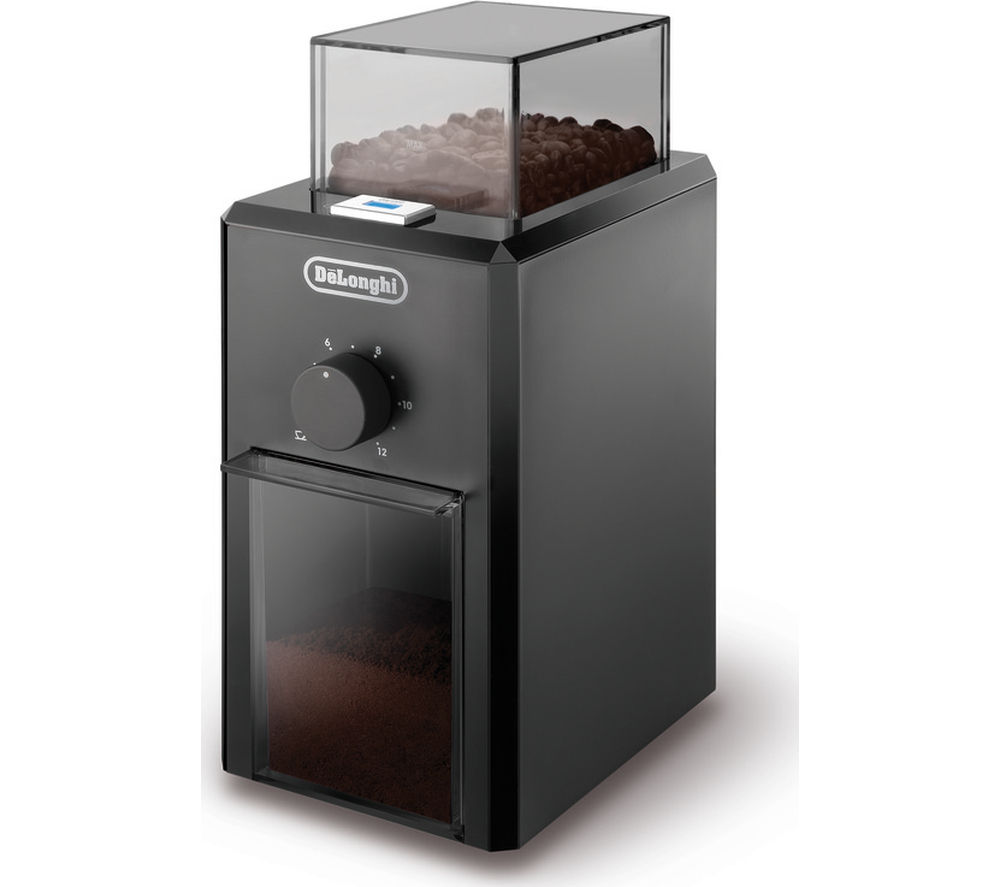 DELONGHI KG79 Electric Coffee Grinder - Black
