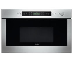 WHIRLPOOL Absolute AMW 438 IX Built-in Microwave with Grill - Stainless Steel
