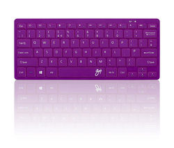GOJI GKBMMPP16 Wireless Keyboard - Purple