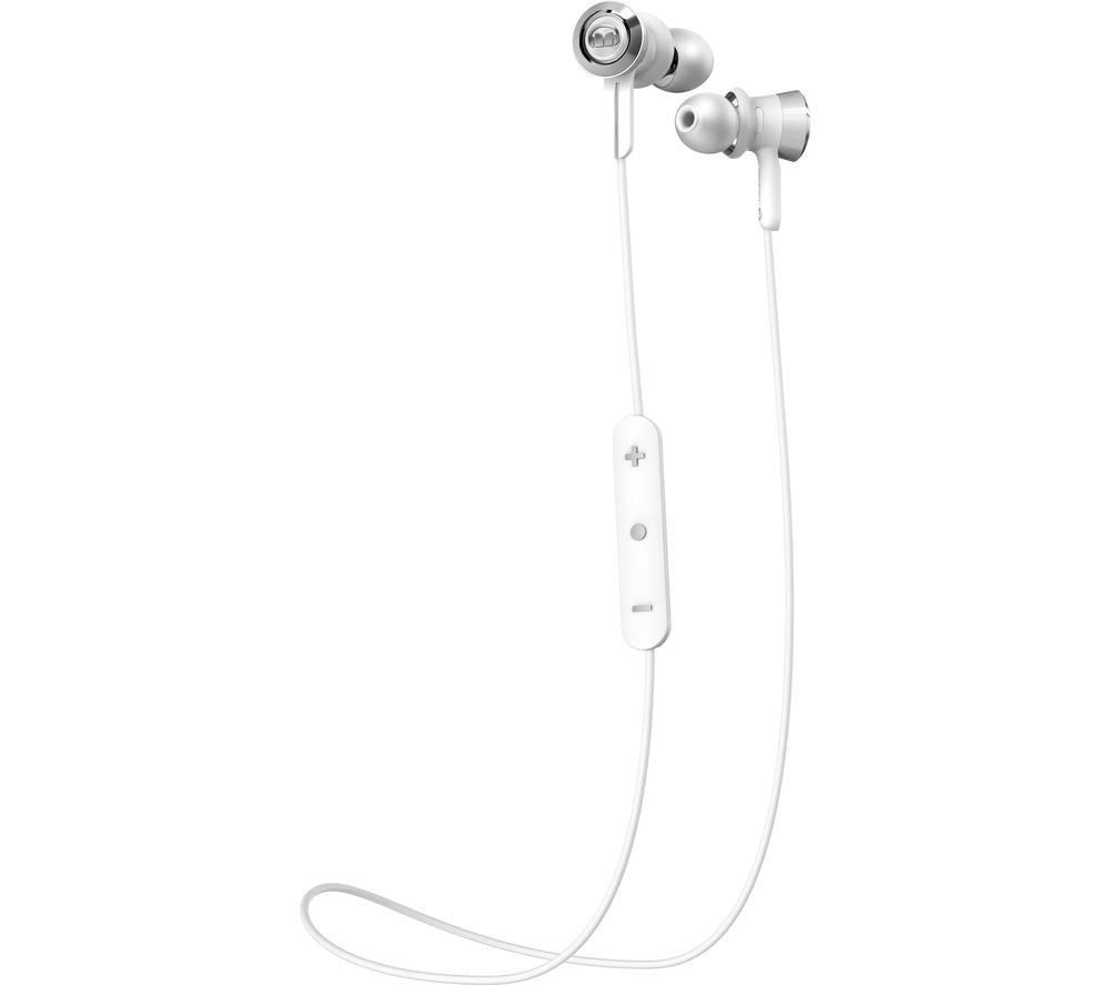 MONSTER Clarity HD Wireless Bluetooth Headphones - White