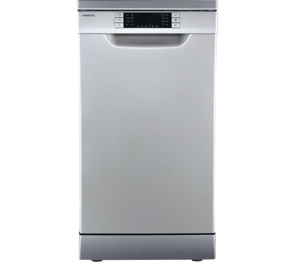 Mini Dishwashers Buy Kenwood Kdw45s16 Slimline Dishwasher Silver Free Delivery