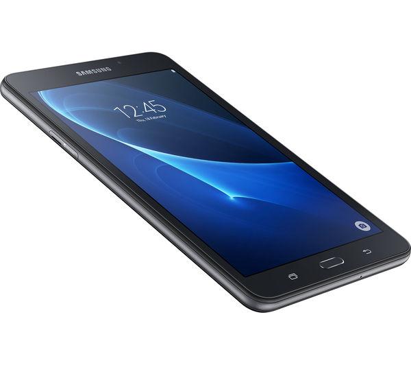 "Image of SAMSUNG Galaxy Tab A 7"" Tablet - 8 GB, Black"