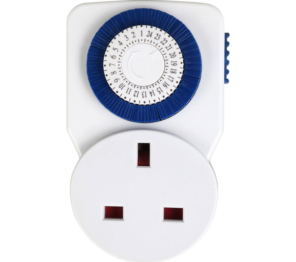 MASTERPLUG 24 Hour Timer Plug Adapter