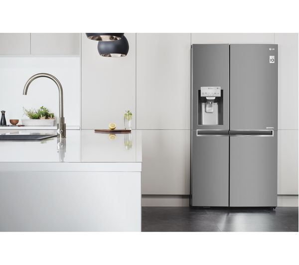 What Is An American Fridge Freezer Part - 47: LG GSL961PZBV American-Style Fridge Freezer - Stainless Steel