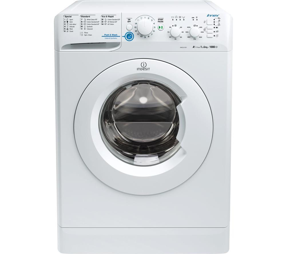INDESIT XWSC61251W Washing Machine - White