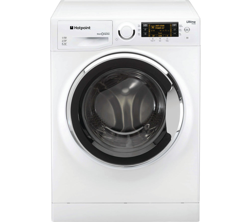 HOTPOINT Ultima S-line RPD10657JX Washing Machine - White