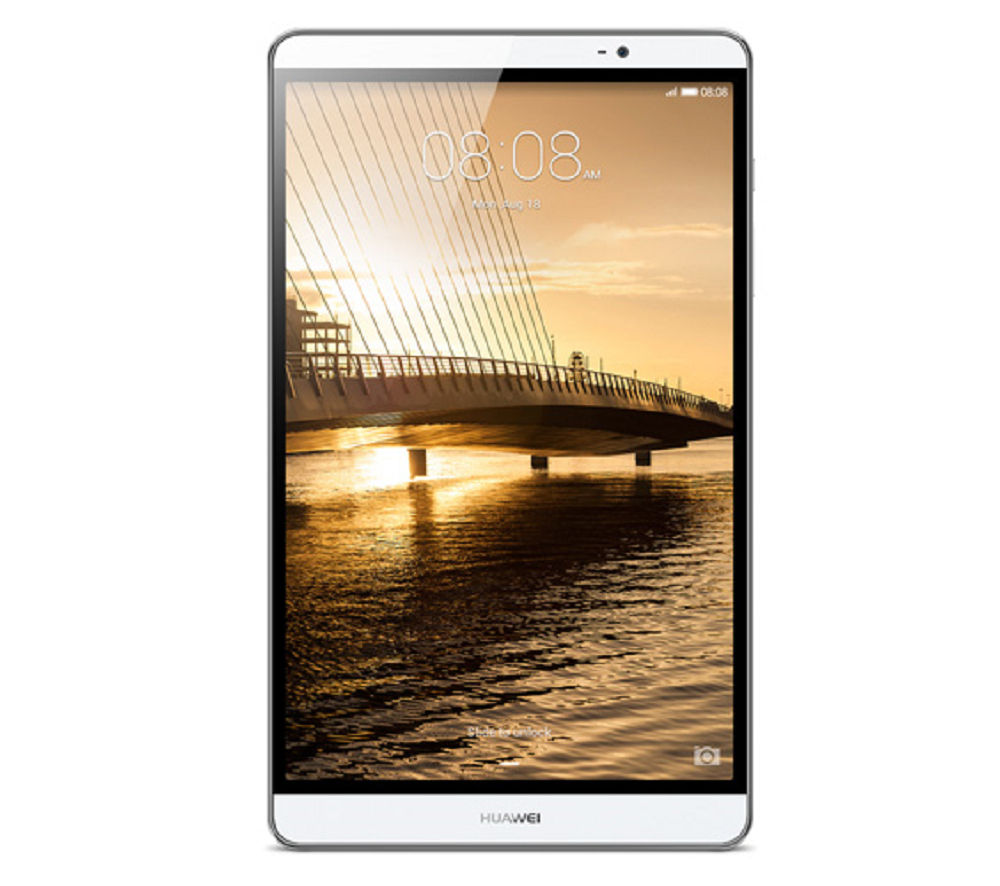 "Image of Huawei MediaPad M2 8.0"" Tablet - 16 GB, Silver"