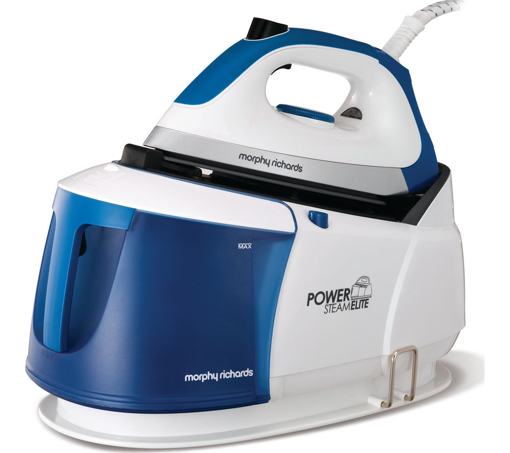 Morphy Richards Store: Buy MORPHY RICHARDS Power Steam Elite 332010 Steam Generator Iron - White & Blue