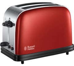 RUSSELL HOBBS Colours Plus 23330 2-Slice Toaster - Red