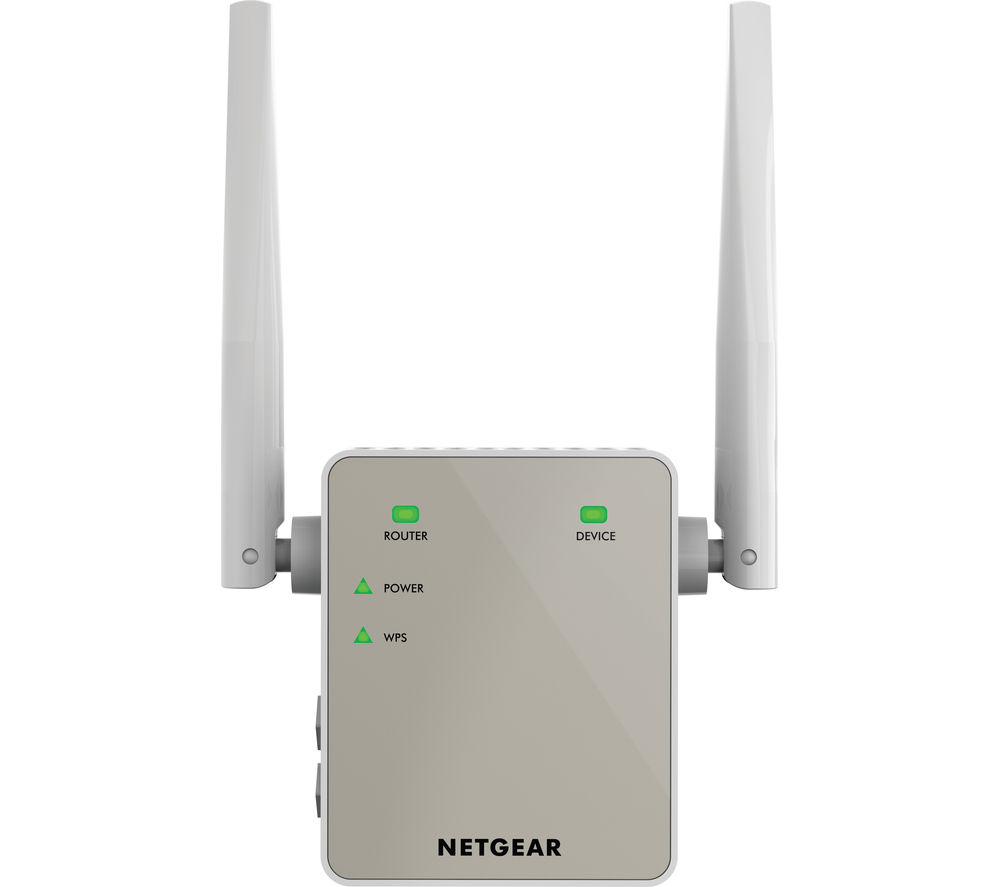 NETGEAR EX6120 WiFi Range Extender - AC 1200, Dual-band