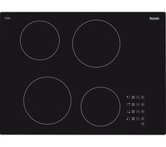 BAUMATIC BHC700 Electric Ceramic Hob - Black