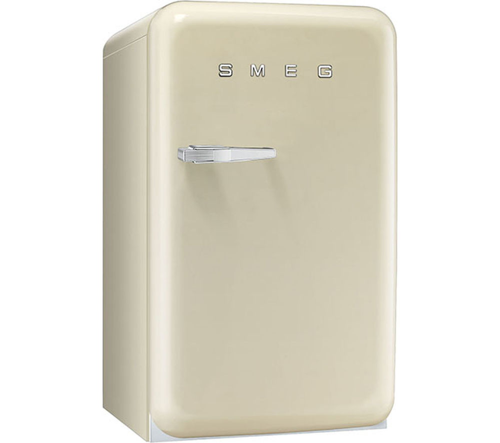 SMEG  FAB10RP Mini Fridge  Cream Cream