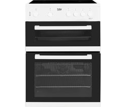 BEKO KDC611W 60 cm Electric Ceramic Cooker - White