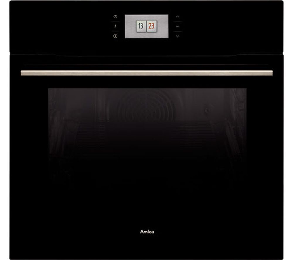 Image of AMICA 1143.3TfB Electric Oven - Black, Black