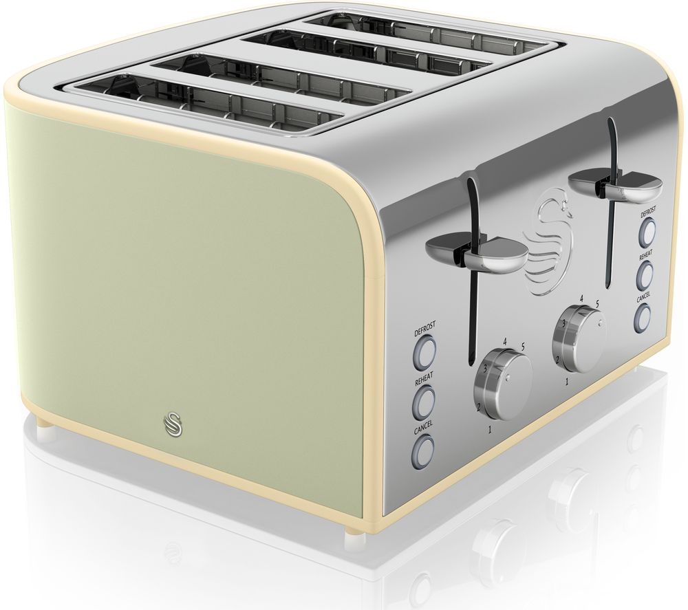 SWAN Retro ST17010GN 4-Slice Toaster Review