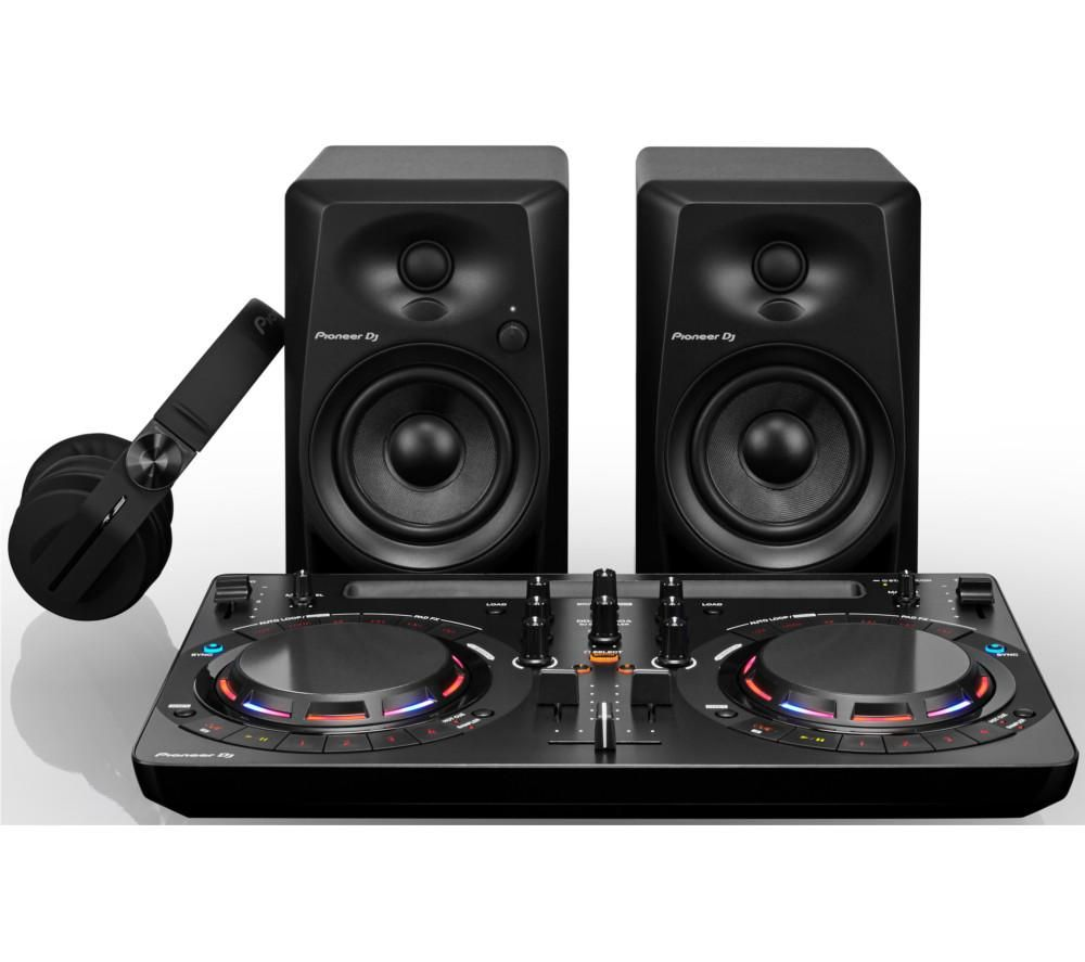 buy pioneer dj starter pack free delivery currys. Black Bedroom Furniture Sets. Home Design Ideas