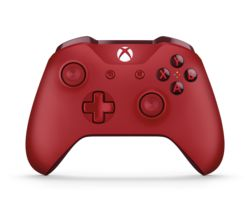 MICROSOFT Xbox One Wireless Gamepad - Red