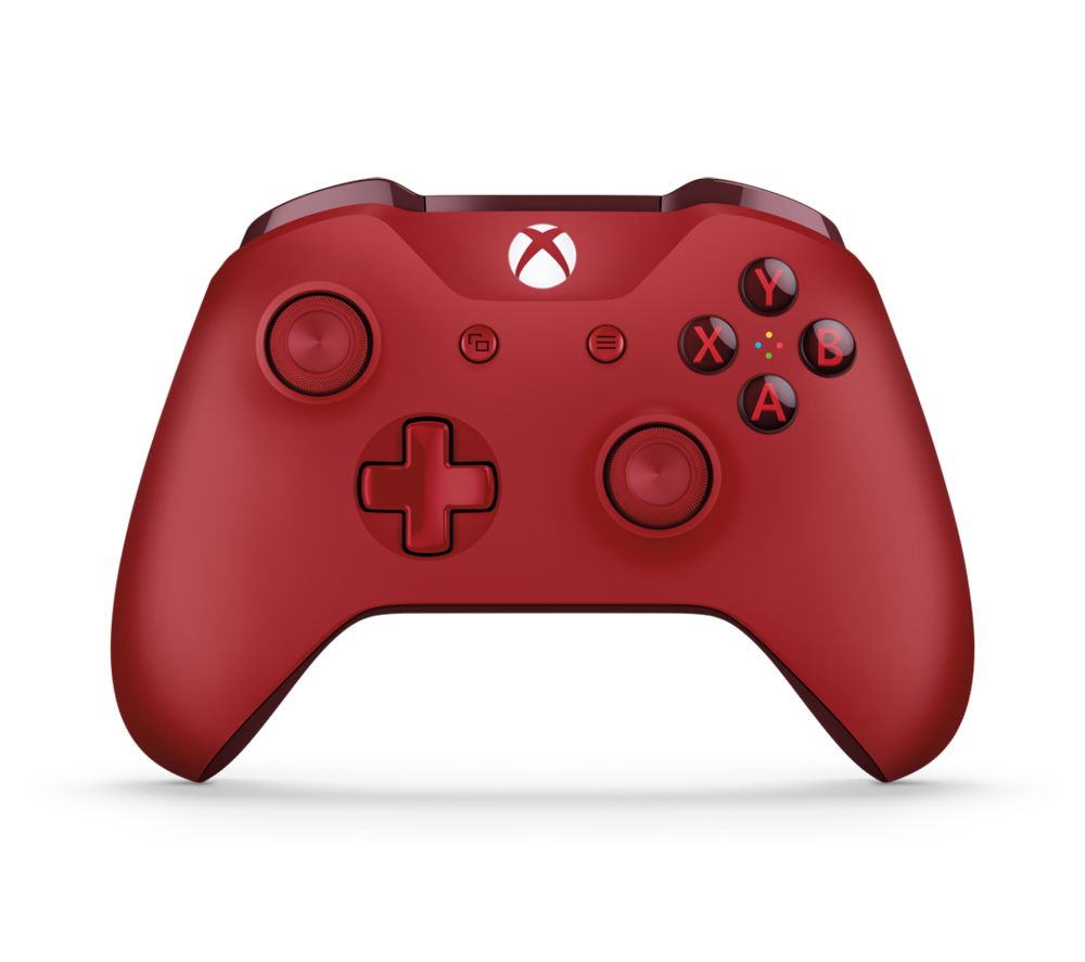 MICROSOFT Xbox One Wireless Gamepad - Red