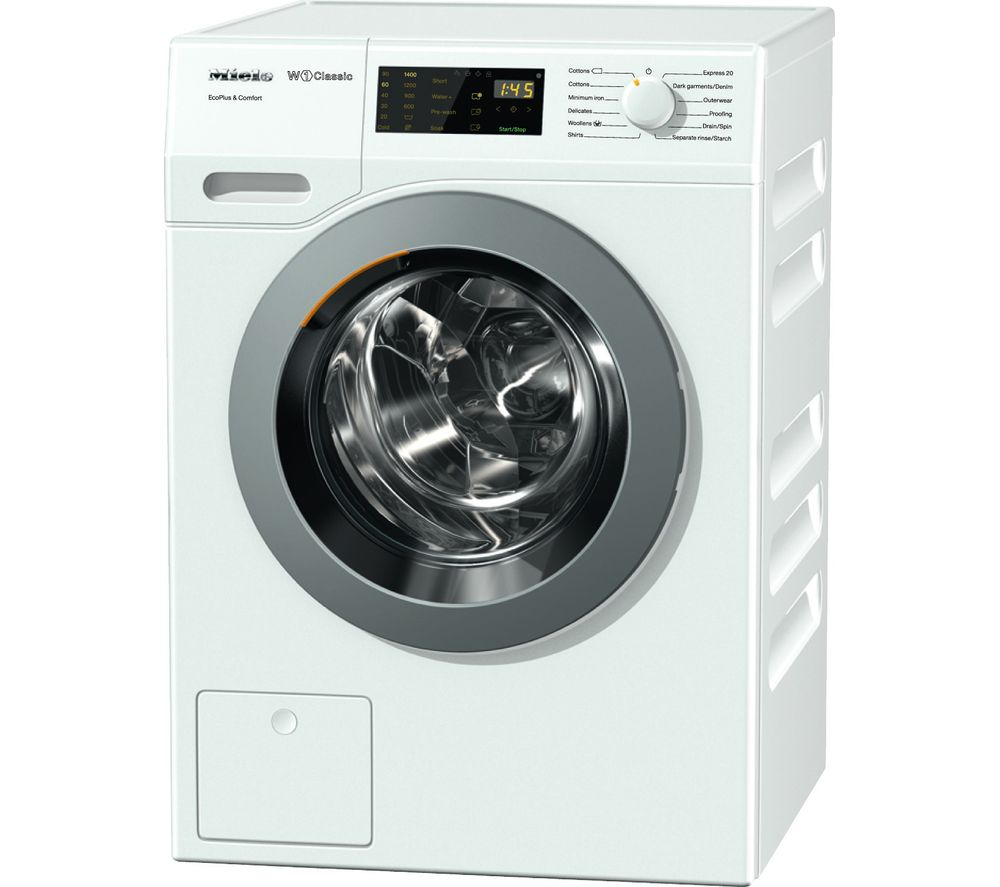 buy miele wdd030 ecoplus comfort washing machine white. Black Bedroom Furniture Sets. Home Design Ideas