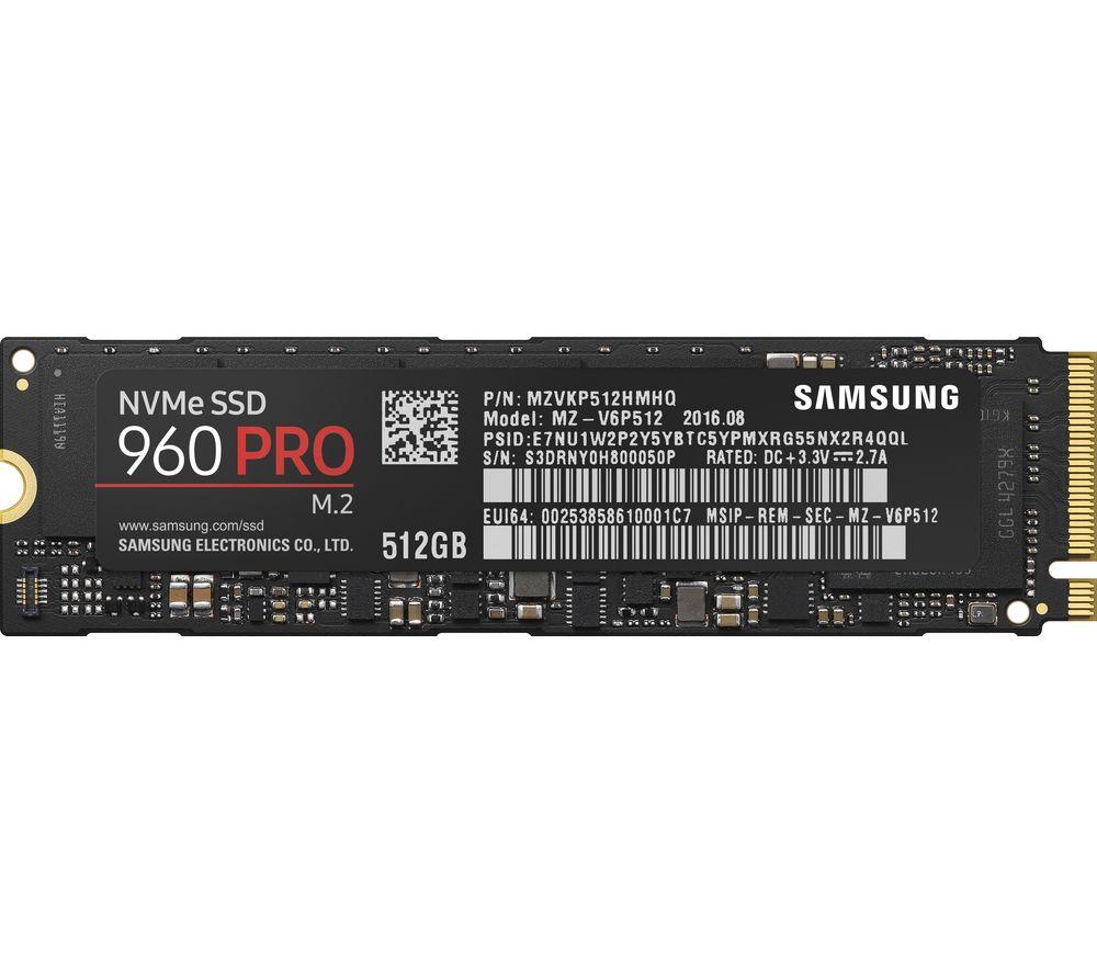 SAMSUNG 960 Pro Internal SSD - 512 GB
