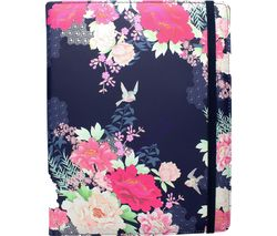 "ACCESSORIZE Oriental Bloom 10"" Tablet Case - Navy"