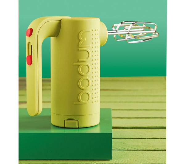 Technical specifications for BODUM Bistro Hand Mixer  Lime Green