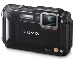 PANASONIC Lumix DMC-FT5 Tough Compact Camera - Black