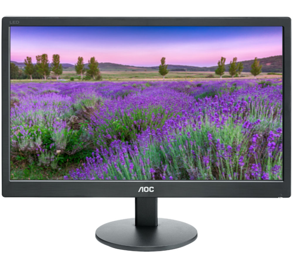 Aoc e2070Swn 19.5 LED Monitore2070Swn 19.5 LED 1600x900 VGA Black Black