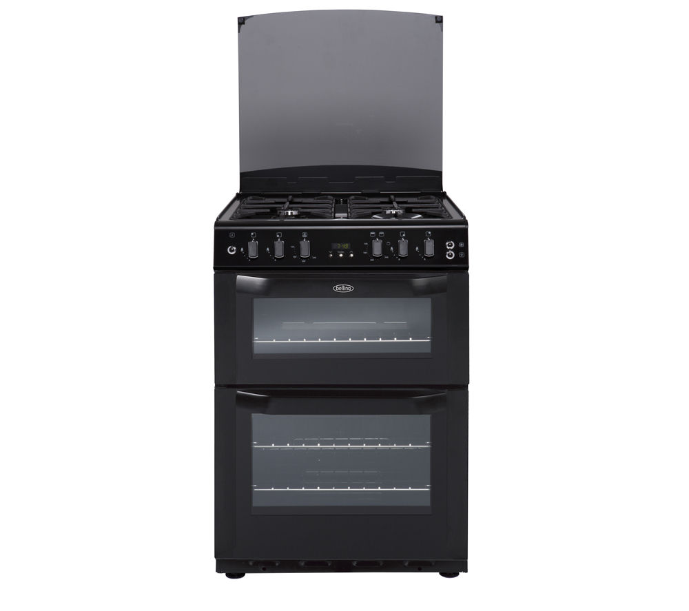 BELLING  FSG60DOF Gas Cooker  Black Black