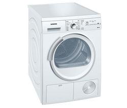 SIEMENS WT46E381GB Condenser Tumble Dryer - White