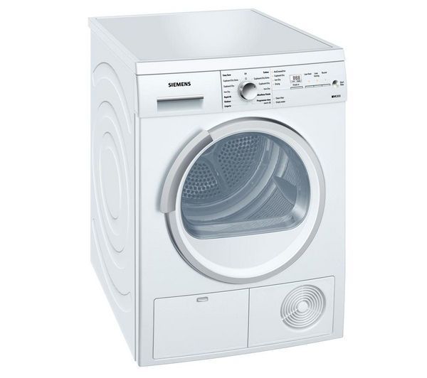 buy siemens wt46e381gb condenser tumble dryer white. Black Bedroom Furniture Sets. Home Design Ideas