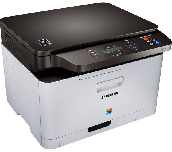 buy samsung xpress c460w colour all in one wireless laser printer clt k406s black toner. Black Bedroom Furniture Sets. Home Design Ideas