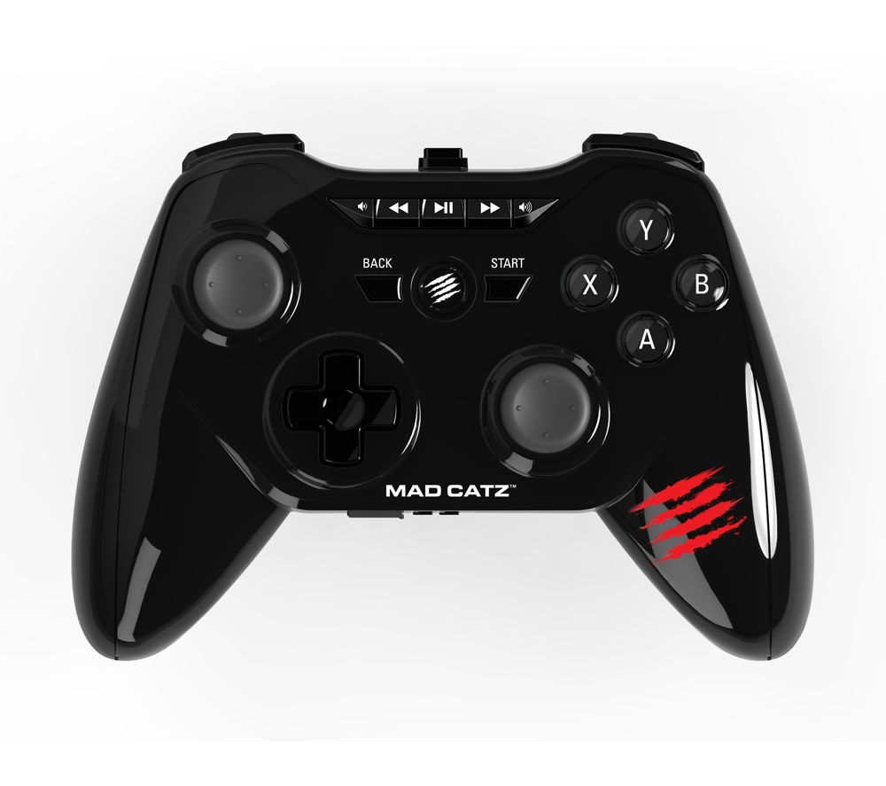 MAD CATZ  C.T.R.L.R Wireless Gamepad - Black, Black