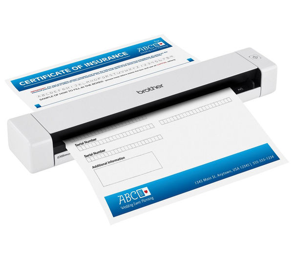 brother ds620 document scanner deals pc world With brother ds620 document scanner