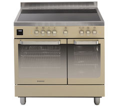 HOOVER HVD9395IV Electric Range Cooker - Ivory & Stainless Steel