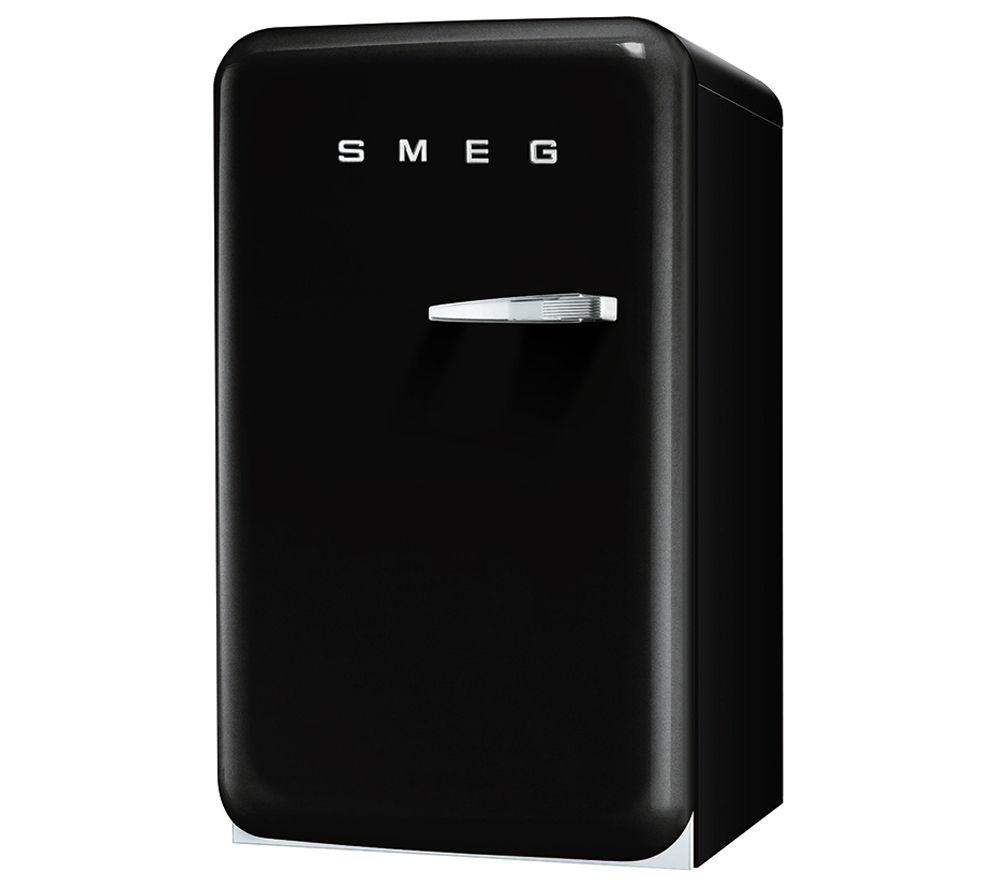 buy smeg fab10hlne mini fridge black free delivery currys. Black Bedroom Furniture Sets. Home Design Ideas