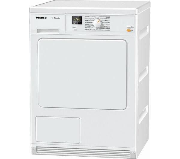 Miele TDA140C Condensor Tumble Dryer - White, White