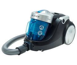 HOOVER Blaze SP81 BL11001 Cylinder Bagless Vacuum Cleaner - Black, Blue & Silver