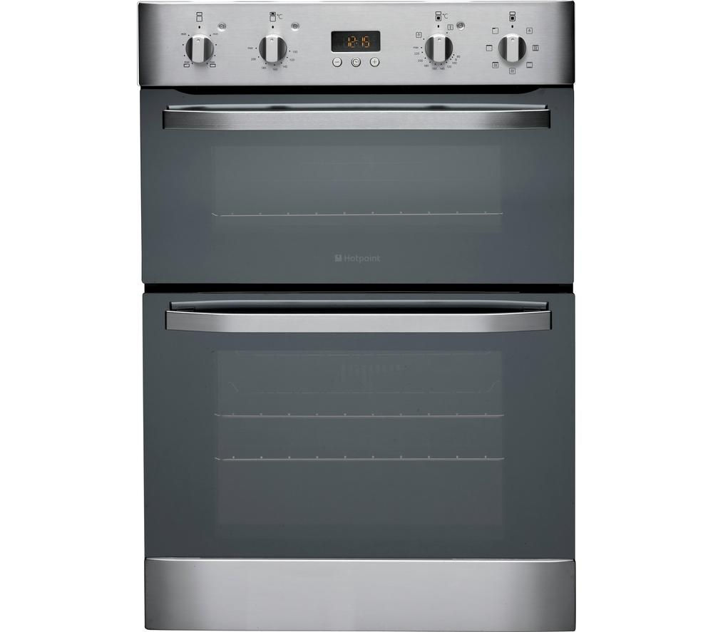 HOTPOINT DH93CXS Electric Double Oven - Stainless Steel