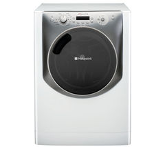 HOTPOINT Aqualtis AQ113F497E Washing Machine - White & Tungsten
