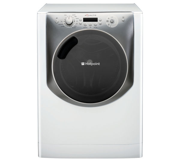 HOTPOINT  Aqualtis AQ113F497E Washing Machine  White & Tungsten White