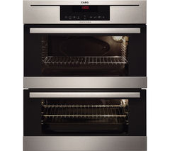 AEG NC7013021M Electric Double Oven - Stainless Steel