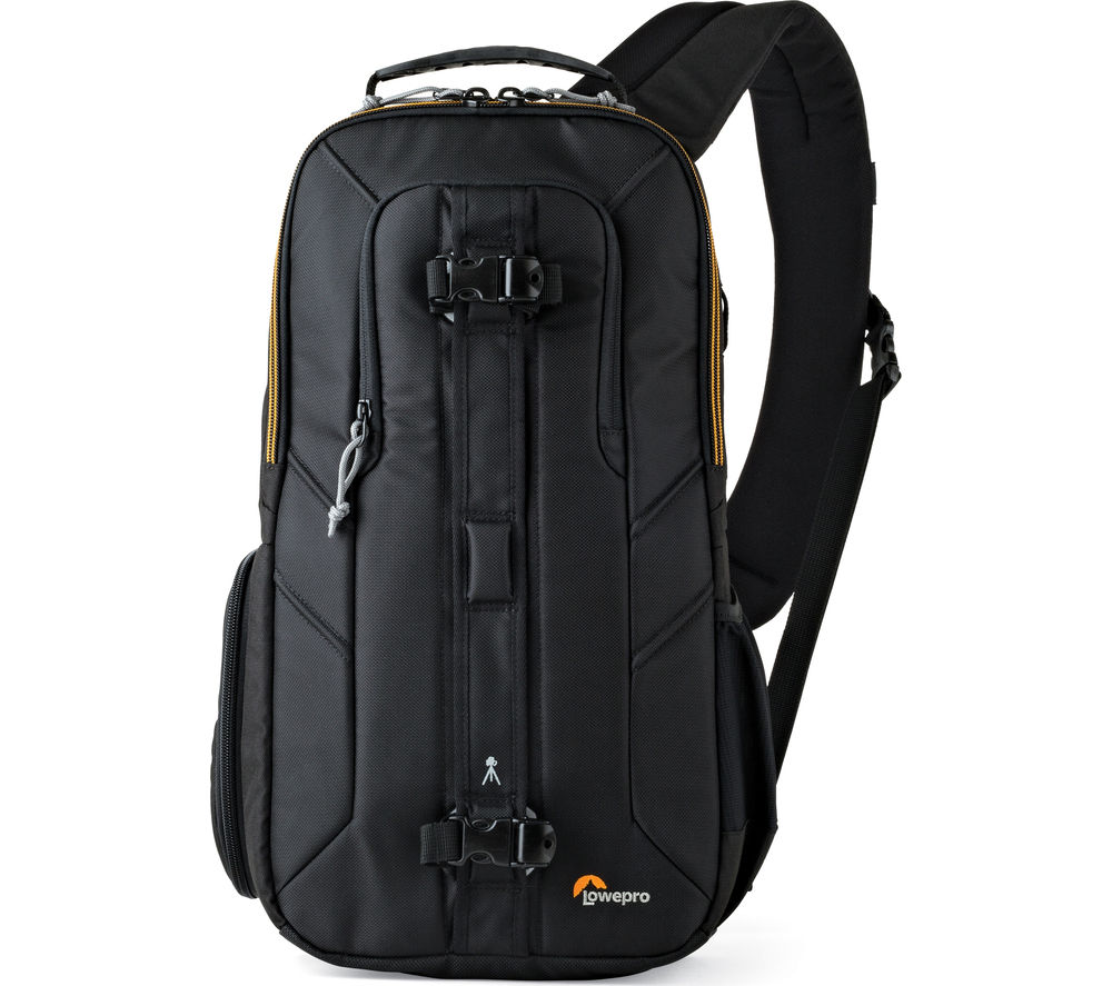 LOWEPRO  Slingshot Edge 250 AW DSLR Camera Bag - Black, Black at PC World, UK