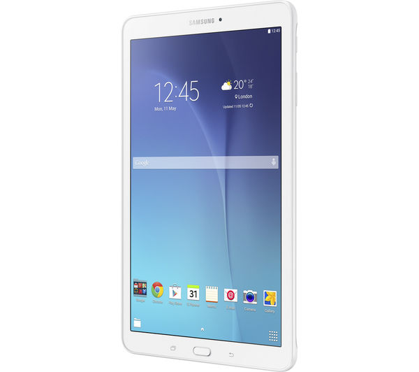 "Image of SAMSUNG Galaxy Tab E 9.6"" Tablet - 8 GB, White"