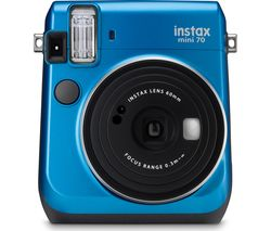 FUJIFILM Instax Mini 70 Instant Camera - Blue