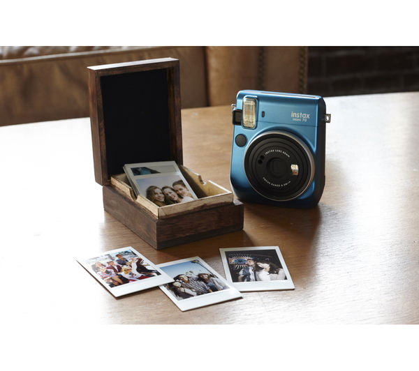 Buy INSTAX Mini 70 Instant Camera - Blue | Free Delivery | Currys