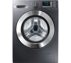 SAMSUNG ecobubble WF90F5E5U4X Washing Machine - Graphite