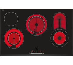 SIEMENS ET851FC17E Electric Ceramic Hob - Black